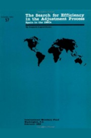 The Search for Efficiency in the Adjustment Process: Spain in the 1980s (International Monetary Fund Occasional Paper)